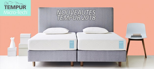 micro tech tempur nouvelle g n ration de matelas m moire de forme confort nuits n mes. Black Bedroom Furniture Sets. Home Design Ideas
